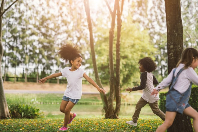 Ways to get kids moving this summer